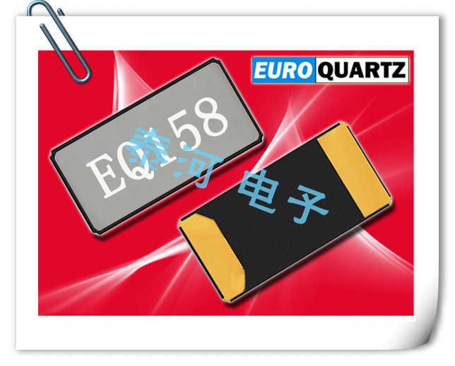 EUROQUARTZ晶振,贴片晶振,EQ158晶振,手持电池设备用晶体