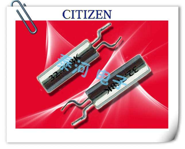 西铁城晶振,贴片晶振,CMR250T晶振,2x6弯脚型千赫晶体