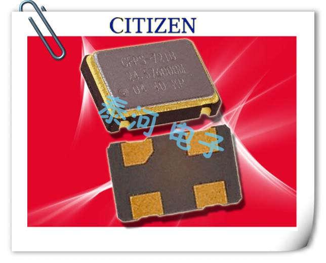 西铁城晶振,贴片晶振,SSX-750PJ晶振,低频低电压振荡器